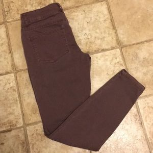Size Small Mauve Jeggings